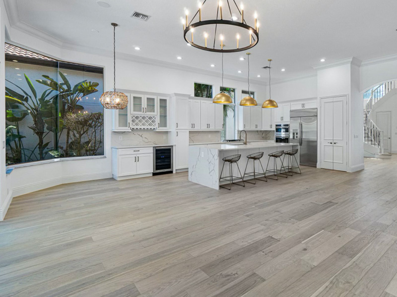 Coastline Amelia Oak kitchen